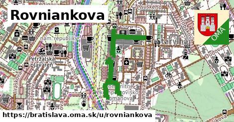 ilustračný obrázok k Rovniankova, Bratislava