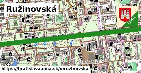 ilustračný obrázok k Ružinovská, Bratislava