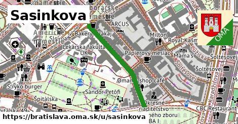 ilustračný obrázok k Sasinkova, Bratislava
