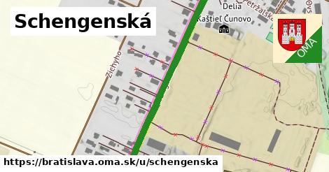 ilustrácia k Schengenská, Bratislava - 541m