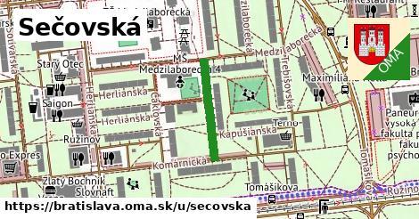 ilustrácia k Sečovská, Bratislava - 181m