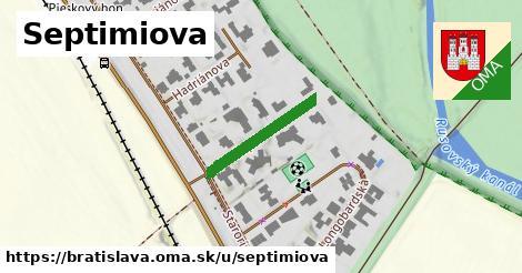 ilustrácia k Septimiova, Bratislava - 190m