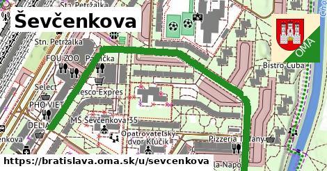 ilustrácia k Ševčenkova, Bratislava - 0,77km