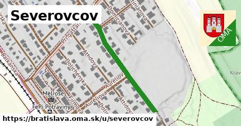 ilustračný obrázok k Severovcov, Bratislava
