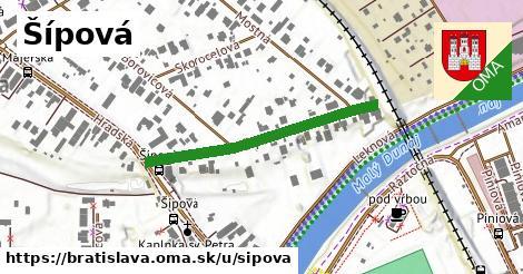 ilustrácia k Šípová, Bratislava - 308m