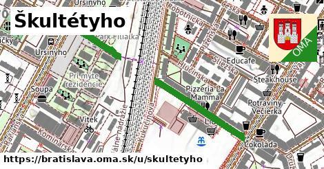 ilustračný obrázok k Škultétyho, Bratislava