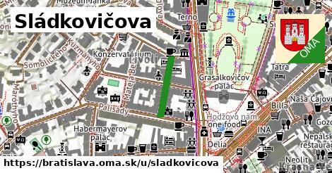 ilustrácia k Sládkovičova, Bratislava - 140m