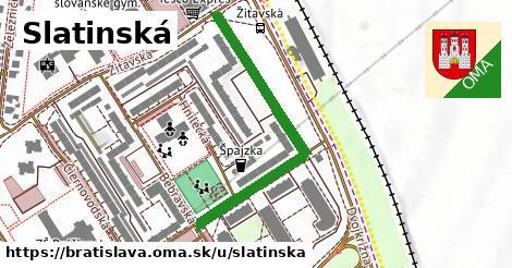 ilustrácia k Slatinská, Bratislava - 443m