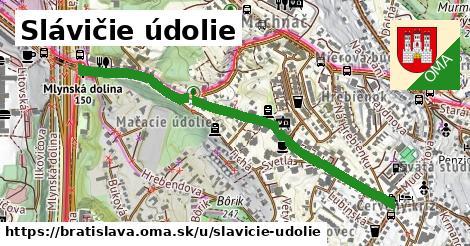 ilustračný obrázok k Slávičie údolie, Bratislava