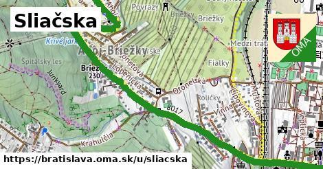 ilustračný obrázok k Sliačska, Bratislava