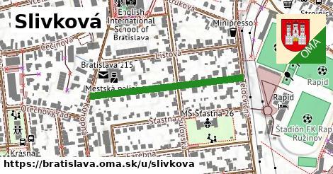 ilustrácia k Slivková, Bratislava - 349m