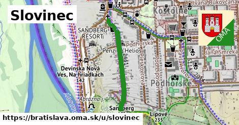 ilustračný obrázok k Slovinec, Bratislava