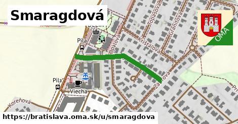 ilustrácia k Smaragdová, Bratislava - 296m