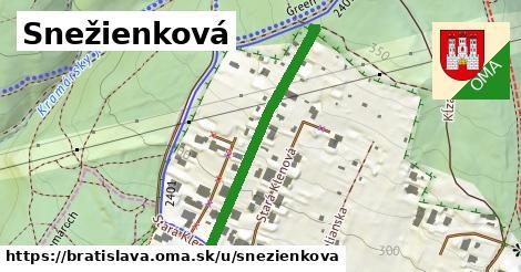 ilustrácia k Snežienková, Bratislava - 363m