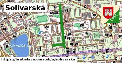 ilustrácia k Solivarská, Bratislava - 688m