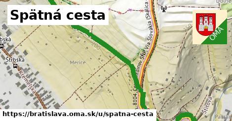 ilustrácia k Spätná cesta, Bratislava - 0,80km