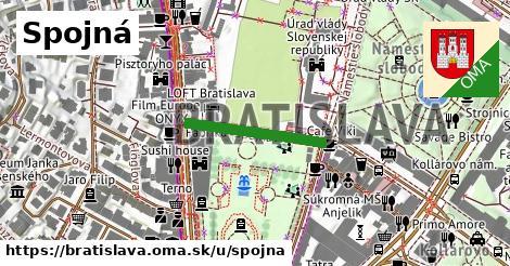 ilustrácia k Spojná, Bratislava - 209m