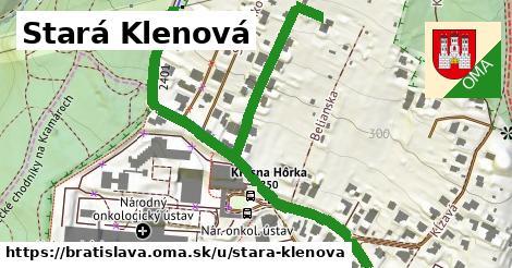 ilustračný obrázok k Stará Klenová, Bratislava
