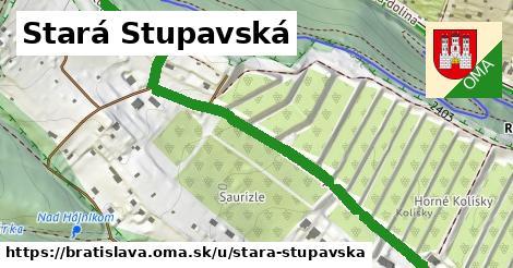 ilustračný obrázok k Stará Stupavská, Bratislava