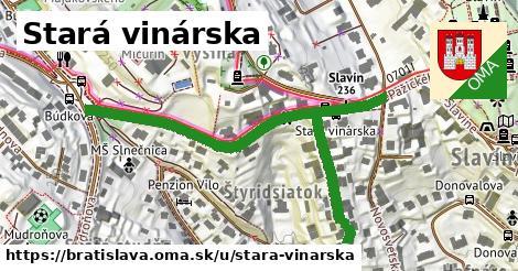 ilustrácia k Stará vinárska, Bratislava - 662m
