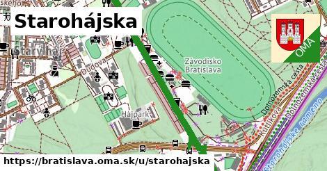ilustračný obrázok k Starohájska, Bratislava