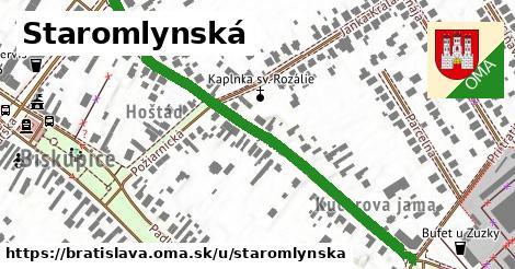 ilustračný obrázok k Staromlynská, Bratislava