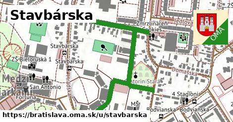 ilustrácia k Stavbárska, Bratislava - 0,75km