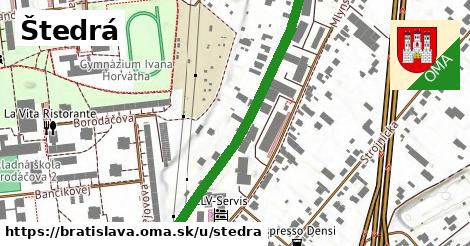 ilustrácia k Štedrá, Bratislava - 544m