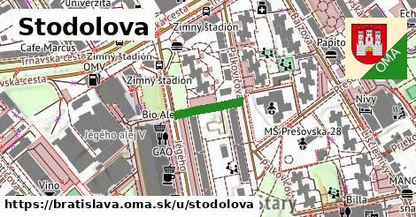 ilustrácia k Stodolova, Bratislava - 132m