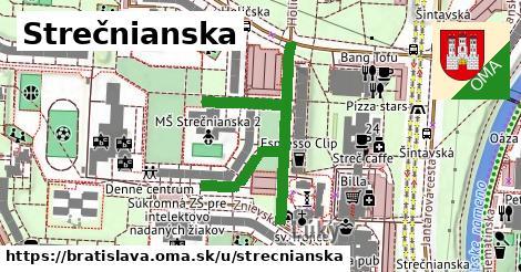 ilustračný obrázok k Strečnianska, Bratislava