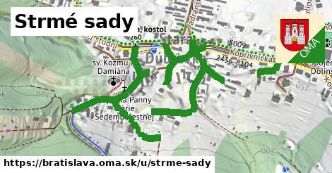 ilustračný obrázok k Strmé sady, Bratislava