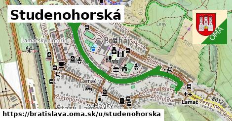 ilustrácia k Studenohorská, Bratislava - 1,25km