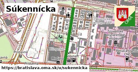 ilustrácia k Súkennícka, Bratislava - 317m