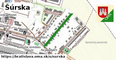 ilustrácia k Šúrska, Bratislava - 279m