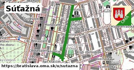 ilustrácia k Súťažná, Bratislava - 421m