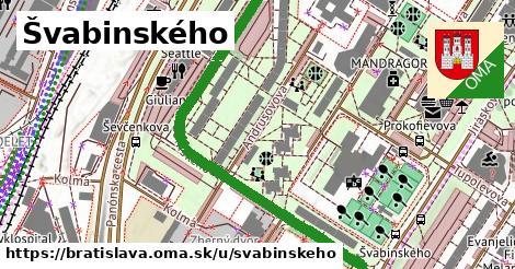 ilustračný obrázok k Švabinského, Bratislava