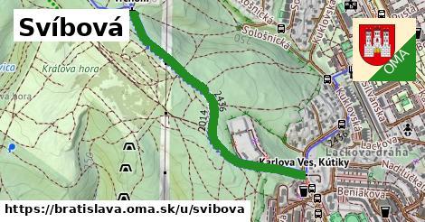 ilustrácia k Svíbová, Bratislava - 0,94km