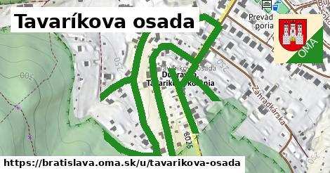 ilustrácia k Tavárikova osada, Bratislava - 1,29km