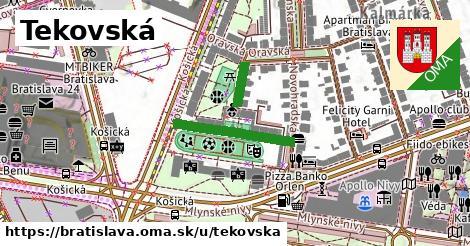 ilustrácia k Tekovská, Bratislava - 264m