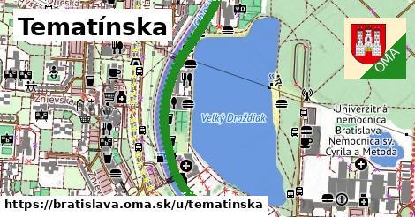 ilustračný obrázok k Tematínska, Bratislava