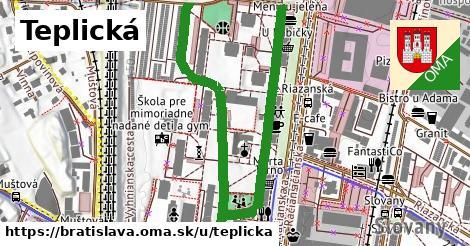ilustrácia k Teplická, Bratislava - 0,81km