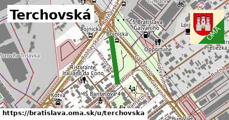 ilustrácia k Terchovská, Bratislava - 158m