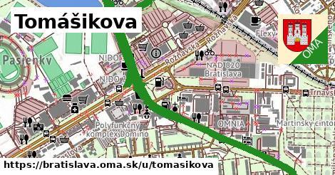 ilustrácia k Tomášikova, Bratislava - 5,5km