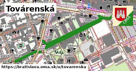 ilustrácia k Továrenská, Bratislava - 0,99km