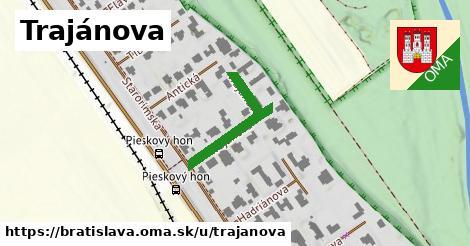 ilustrácia k Trajánova, Bratislava - 245m