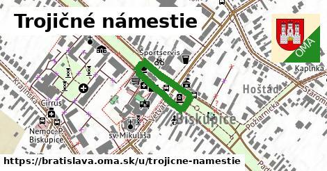 ilustrácia k Trojičné námestie, Bratislava - 450m