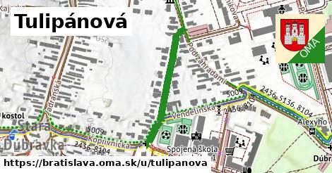 ilustrácia k Tulipánová, Bratislava - 280m