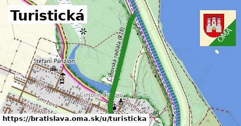 ilustrácia k Turistická, Bratislava - 646m