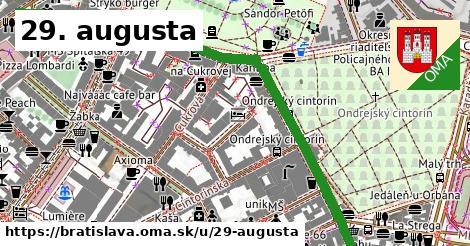 29. augusta, Bratislava