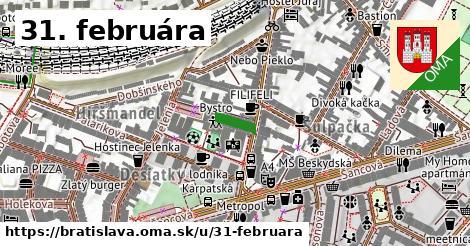 31. februára, Bratislava